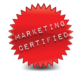 marketing certified logo